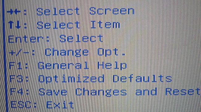 Nach den Änderungen müssen diese gespeichert werden (hier F4, oft F10).
