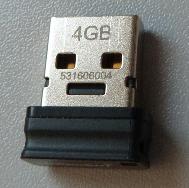 Beispiel USB-Stick.