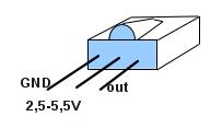 Anschlußbelegung TSOP 31230.