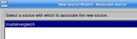 Die neue Testbench wird mit dem VHDL-Quelltext verknüpft.
