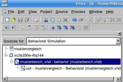 Umschaltung in den Simulations-Modus.