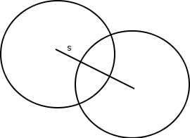 Kollision zweier Pucks