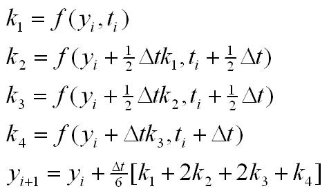 Allgemeines Modell mit Runge-Kutta-Verfahren integtriert.
