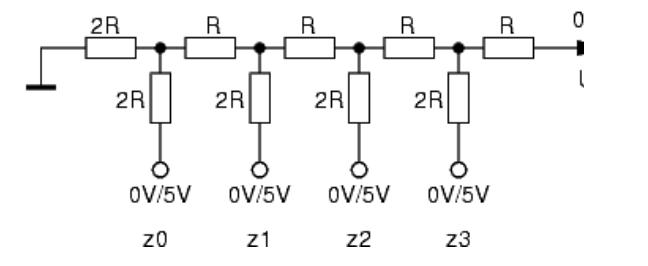 R-2R-Widerstandsnetzwerk