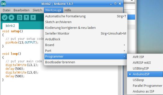 Programer-Auswahl.