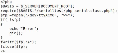 htdocs/serielltest/an.php (htdocs/serielltest/php_serial.class.php muß auch dort liegen)