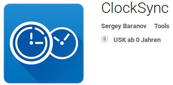 Icon von ClockSync